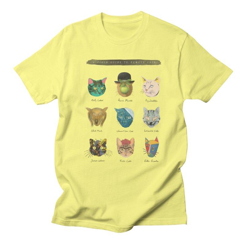 Art & Meow Men's T-shirt by Elly Liyana