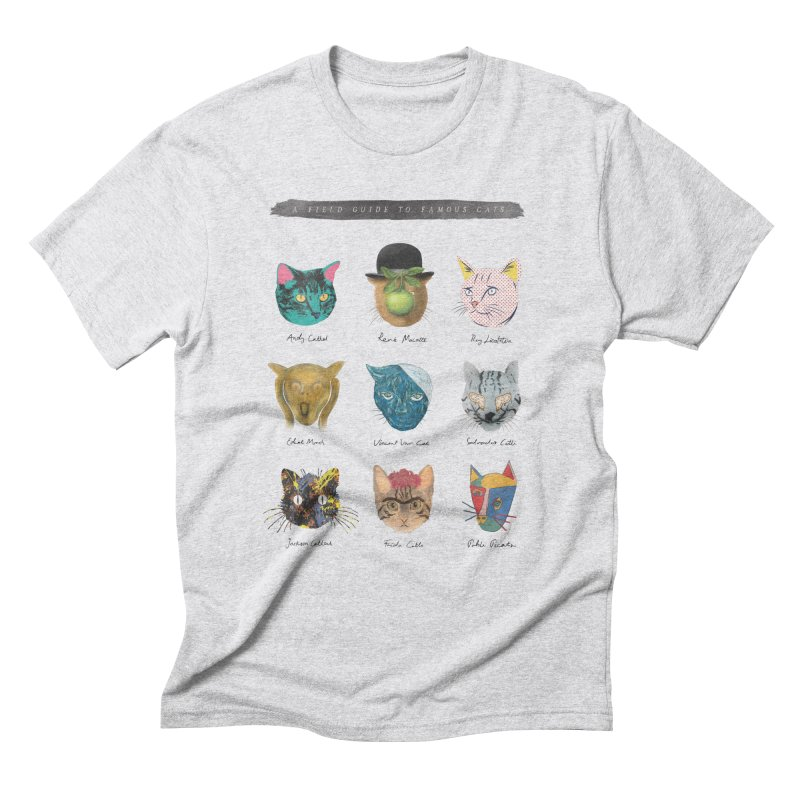 Art & Meow Men's Triblend T-shirt by Elly Liyana