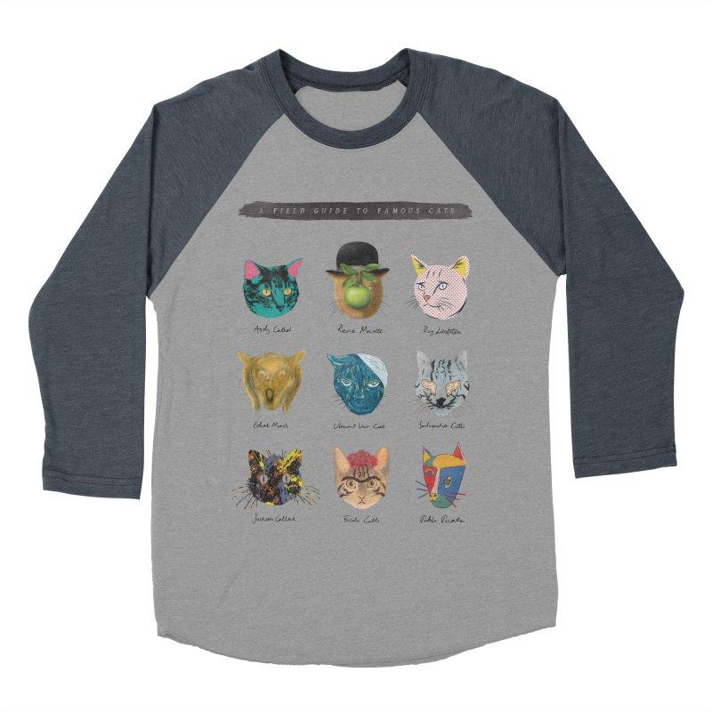 Art & Meow Women's Baseball Triblend T-Shirt by Elly Liyana