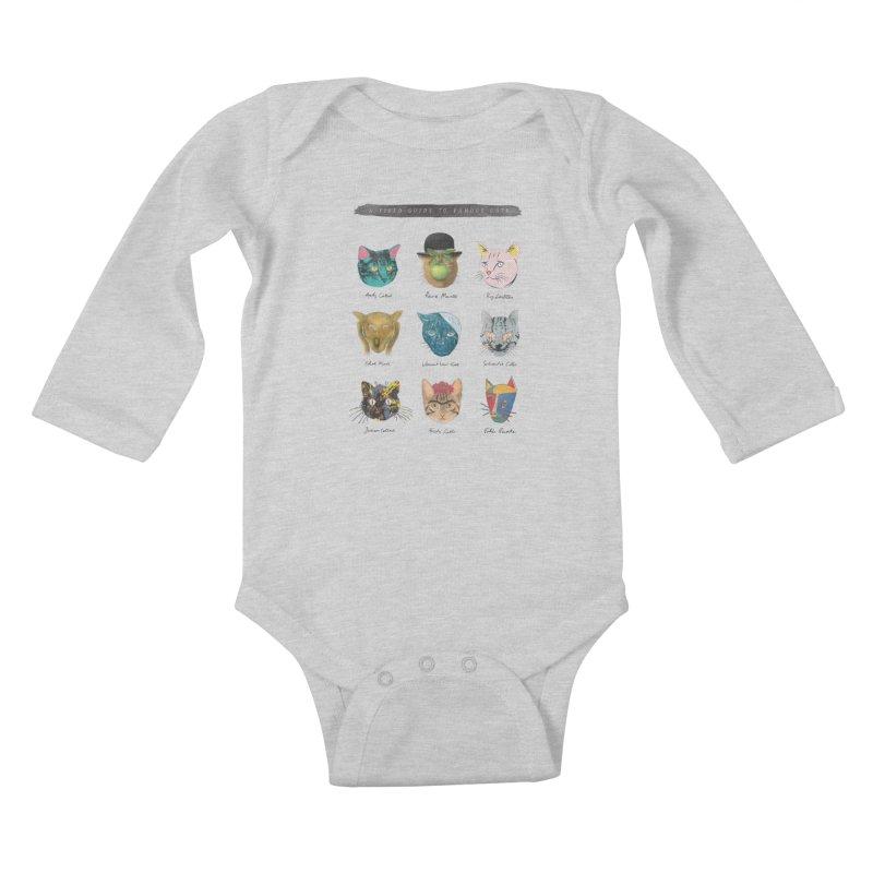Art & Meow Kids Baby Longsleeve Bodysuit by Elly Liyana