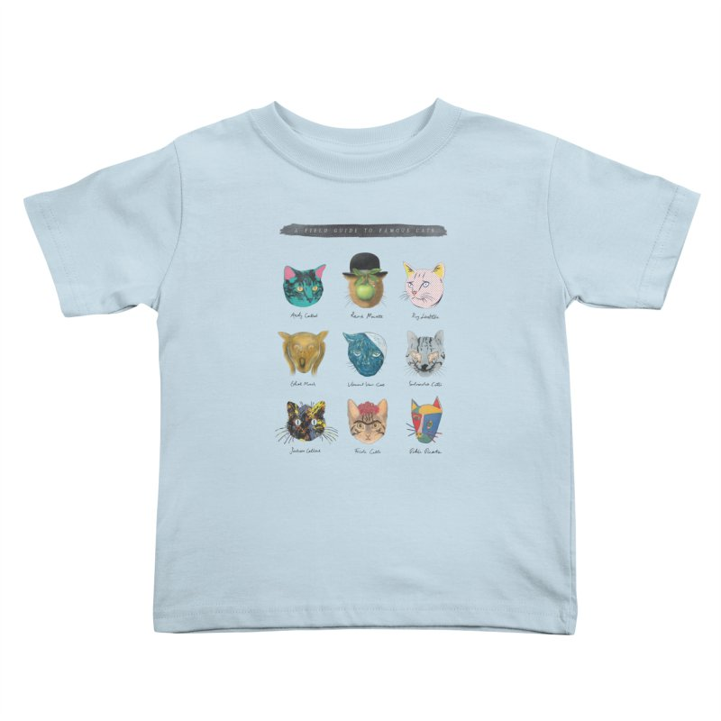 Art & Meow Kids Toddler T-Shirt by Elly Liyana