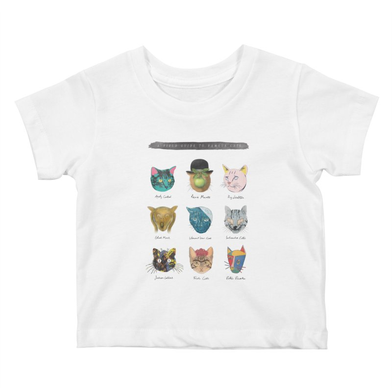 Art & Meow Kids Baby T-Shirt by Elly Liyana