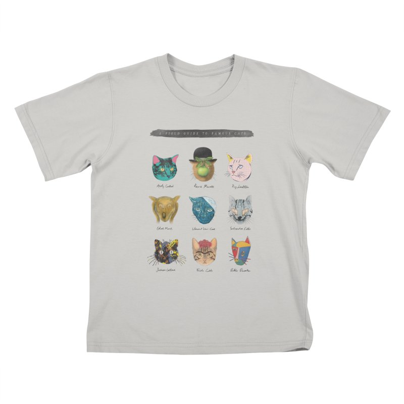 Art & Meow Kids T-shirt by Elly Liyana