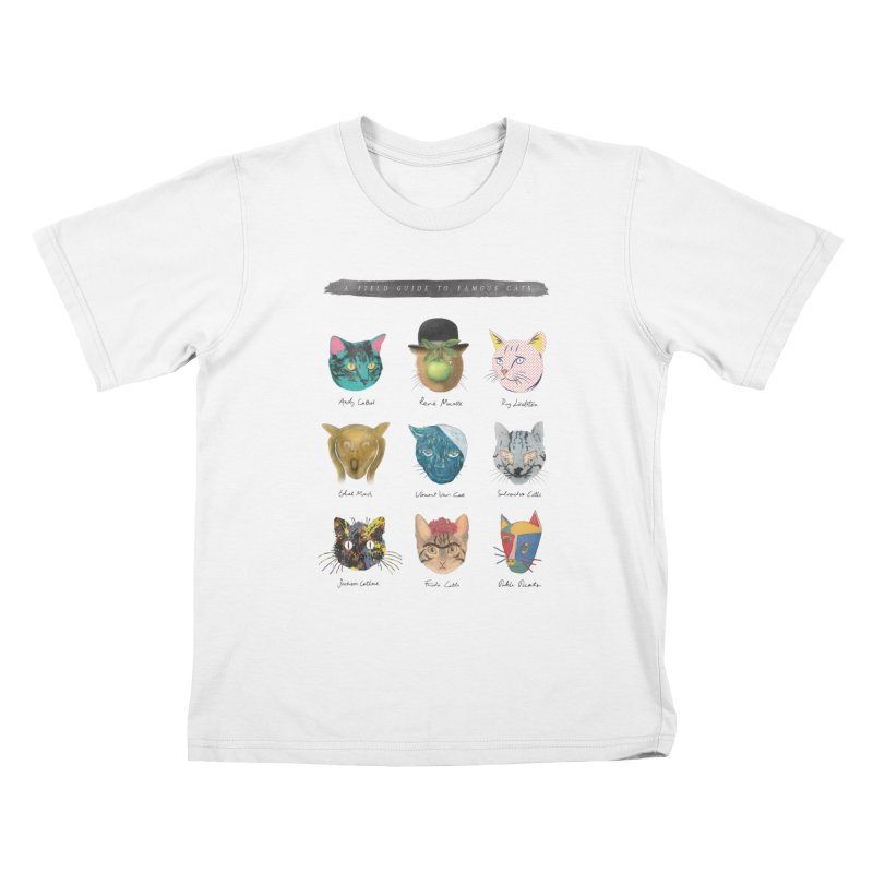 Art & Meow Kids T-shirt by Elly Liyana