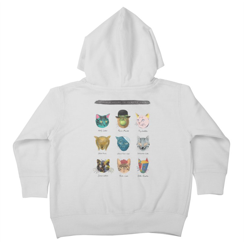 Art & Meow Kids Toddler Zip-Up Hoody by Elly Liyana