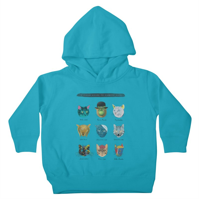 Art & Meow Kids Toddler Pullover Hoody by Elly Liyana