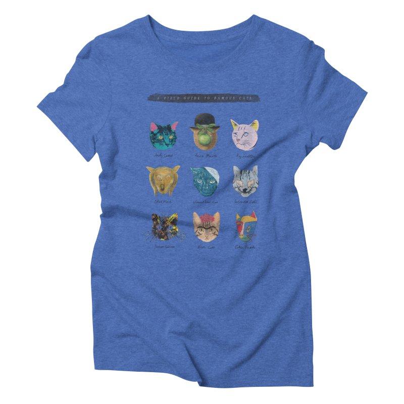 Art & Meow Women's Triblend T-shirt by Elly Liyana