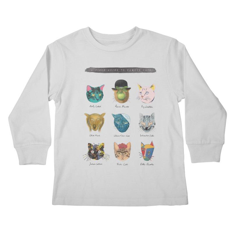 Art & Meow Kids Longsleeve T-Shirt by Elly Liyana