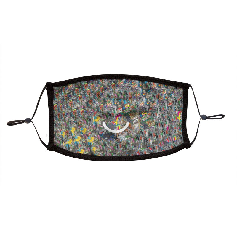 HelloSFello - eBoy Accessories Face Mask by Ello x Threadless