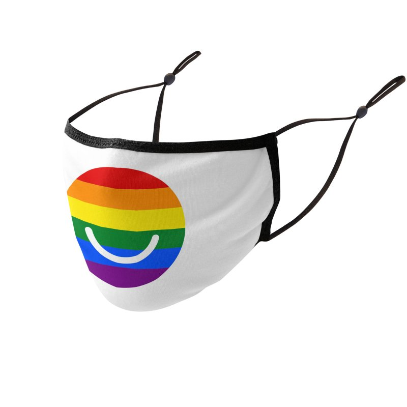 Pride Accessories Face Mask by Ello x Threadless