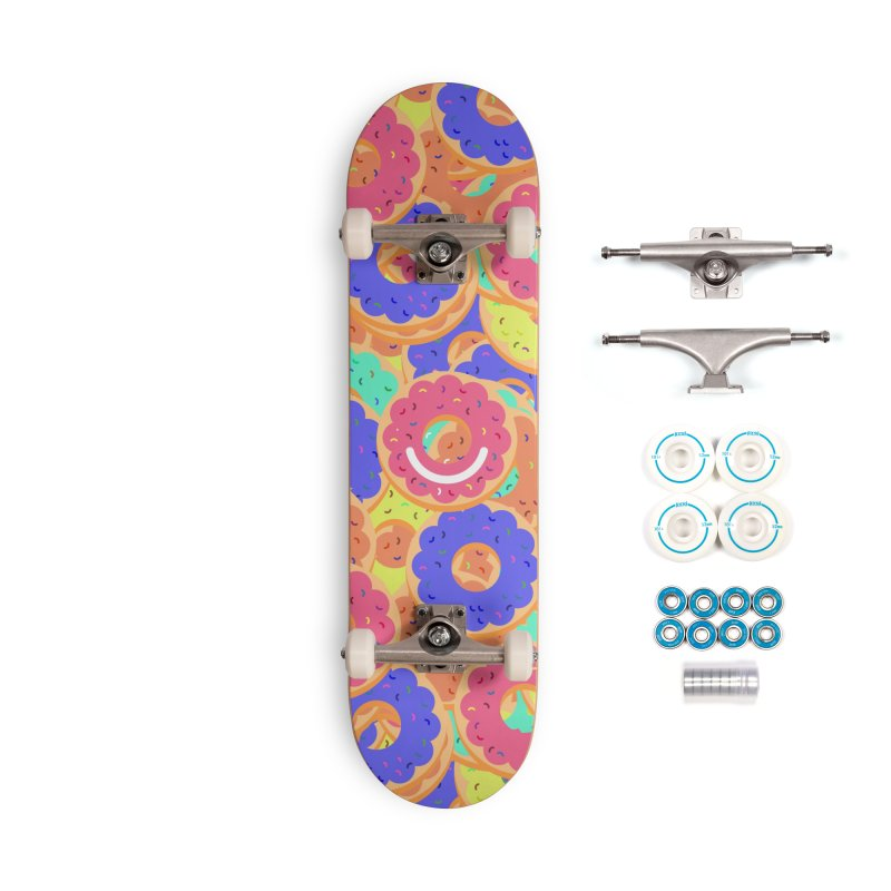 Breakfast - Celeste Prevost Accessories Skateboard by Ello x Threadless
