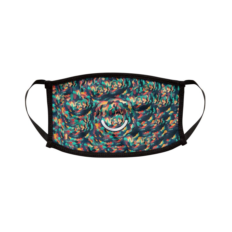 Color Cave - Chuck Anderson Accessories Face Mask by Ello x Threadless