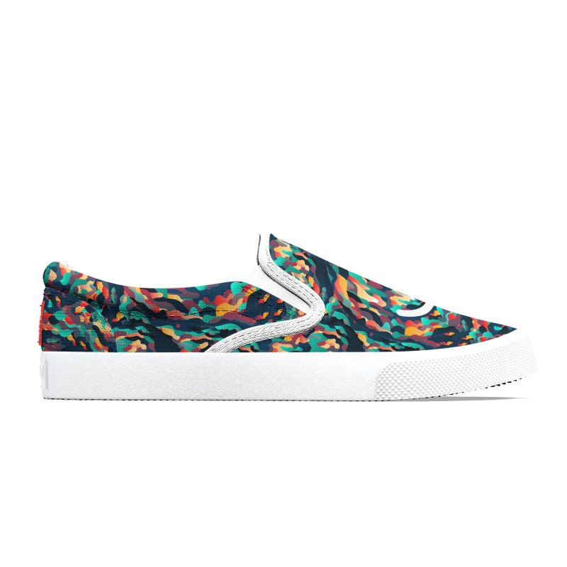 Color Cave - Chuck Anderson Women's Shoes by Ello x Threadless