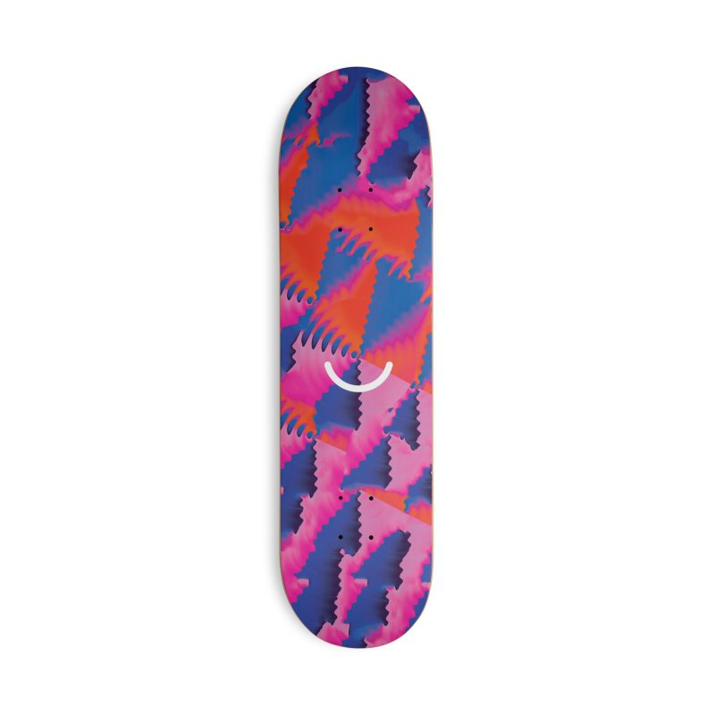 Bulletproof - Luke Choice Accessories Skateboard by Ello x Threadless