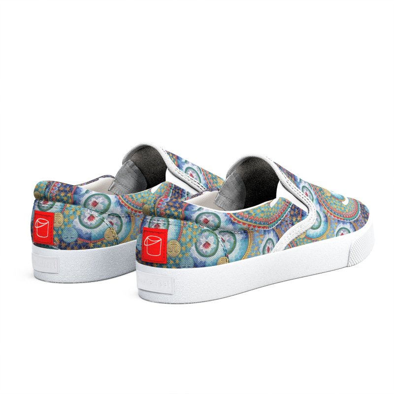 In the Center Men's Shoes by Ello x Threadless