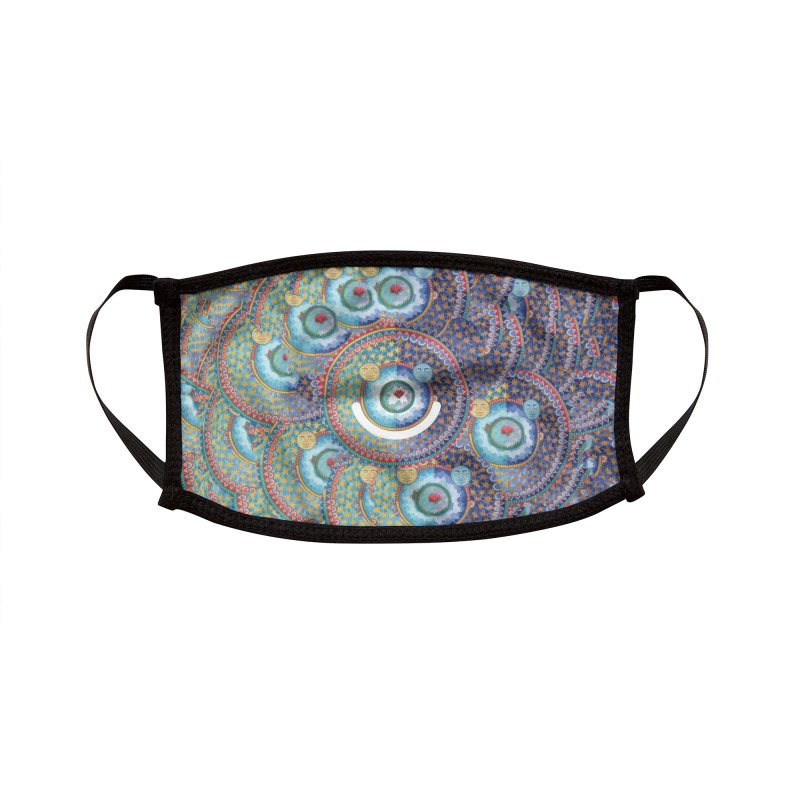 In the Center Accessories Face Mask by Ello x Threadless