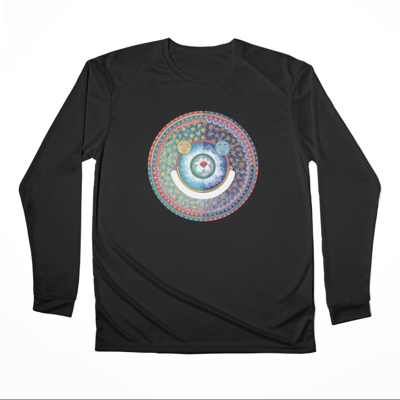 In the Center Men's Longsleeve T-Shirt by Ello x Threadless