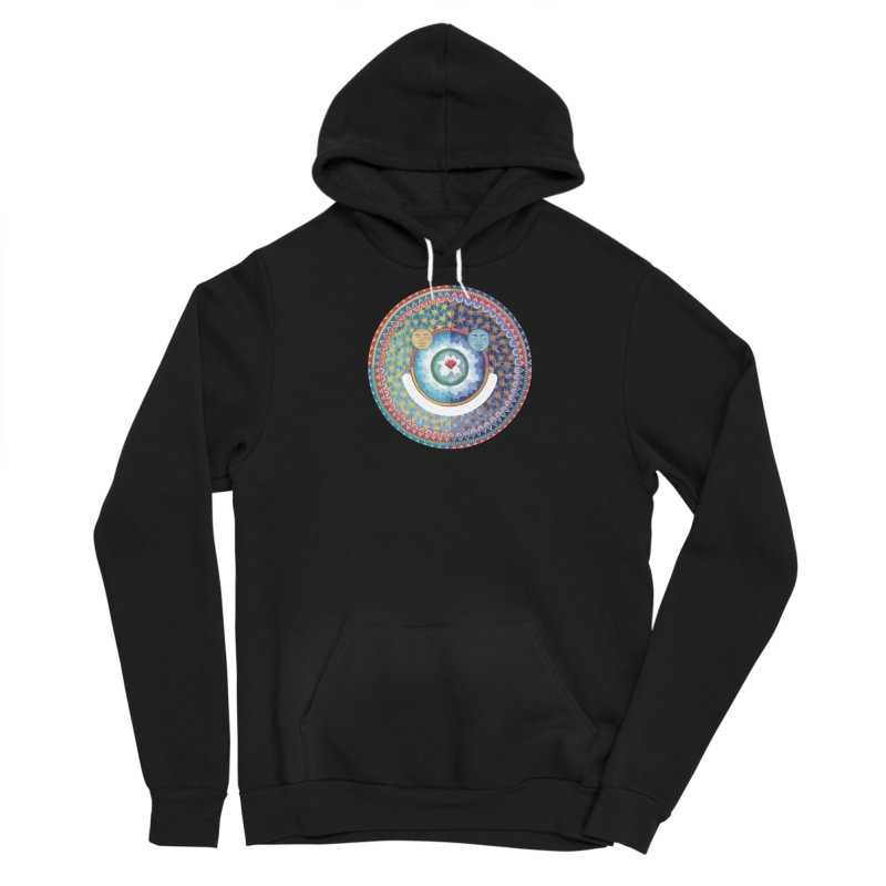 In the Center Men's Pullover Hoody by Ello x Threadless