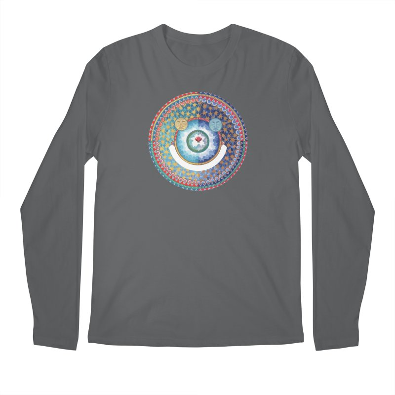 In the Center Men's Longsleeve T-Shirt by Ello x Threadless