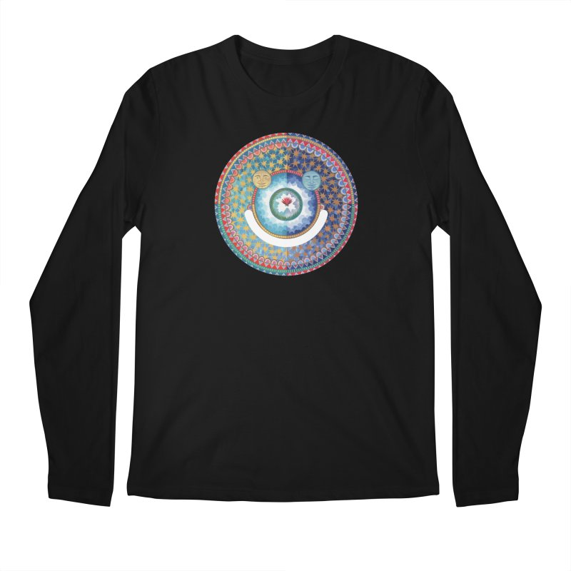 In the Center Men's Regular Longsleeve T-Shirt by Ello x Threadless