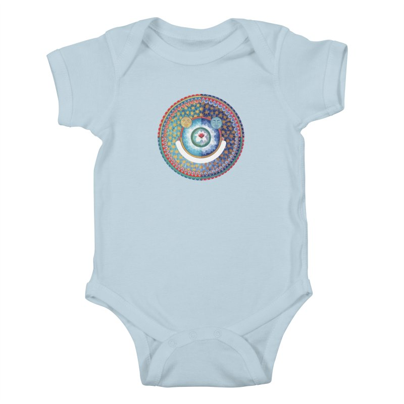 In the Center Kids Baby Bodysuit by Ello x Threadless