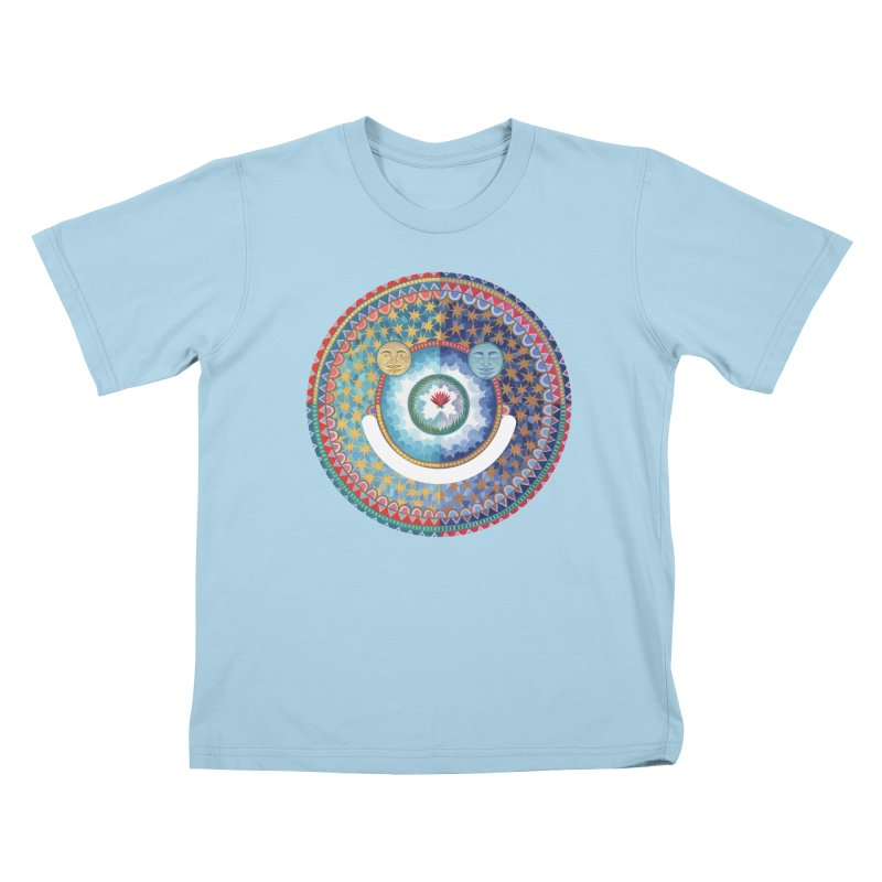 In the Center Kids T-Shirt by Ello x Threadless