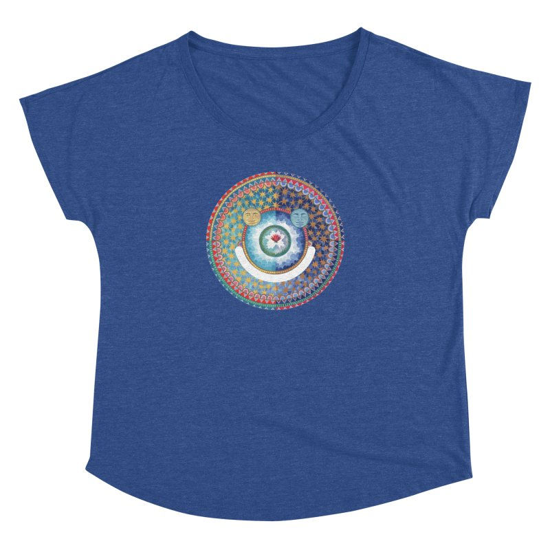 In the Center Women's Scoop Neck by Ello x Threadless