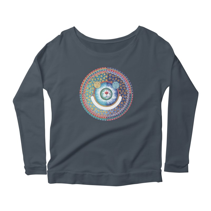In the Center Women's Scoop Neck Longsleeve T-Shirt by Ello x Threadless