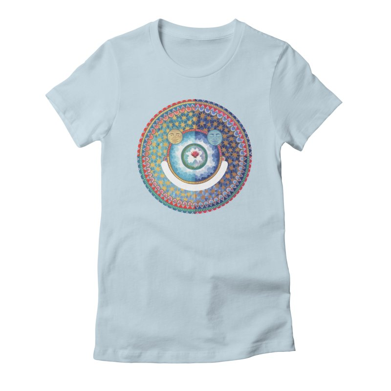 In the Center Women's Fitted T-Shirt by Ello x Threadless