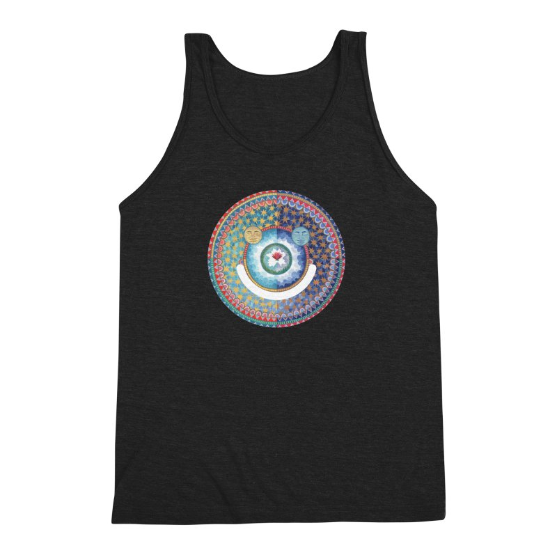 In the Center Men's Triblend Tank by Ello x Threadless