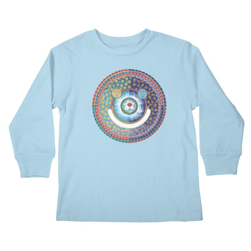 In the Center Kids Longsleeve T-Shirt by Ello x Threadless