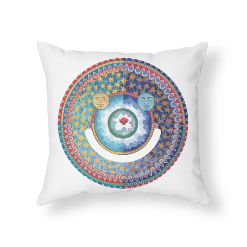 In the Center Home Throw Pillow by Ello x Threadless