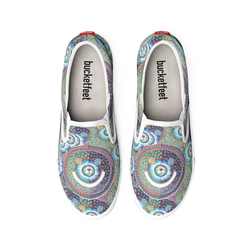 In the Center Women's Shoes by Ello x Threadless