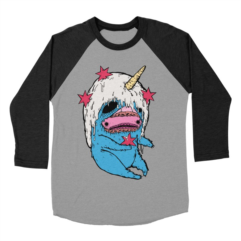 ChiMunster Women's Baseball Triblend Longsleeve T-Shirt by ellooelloo