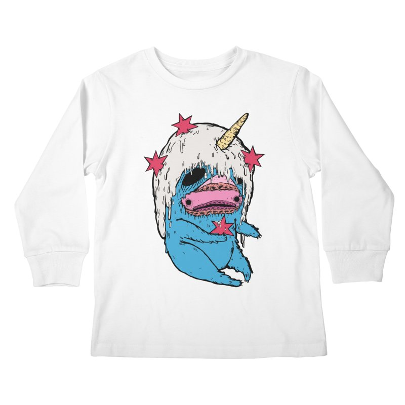 ChiMunster Kids Longsleeve T-Shirt by ellooelloo