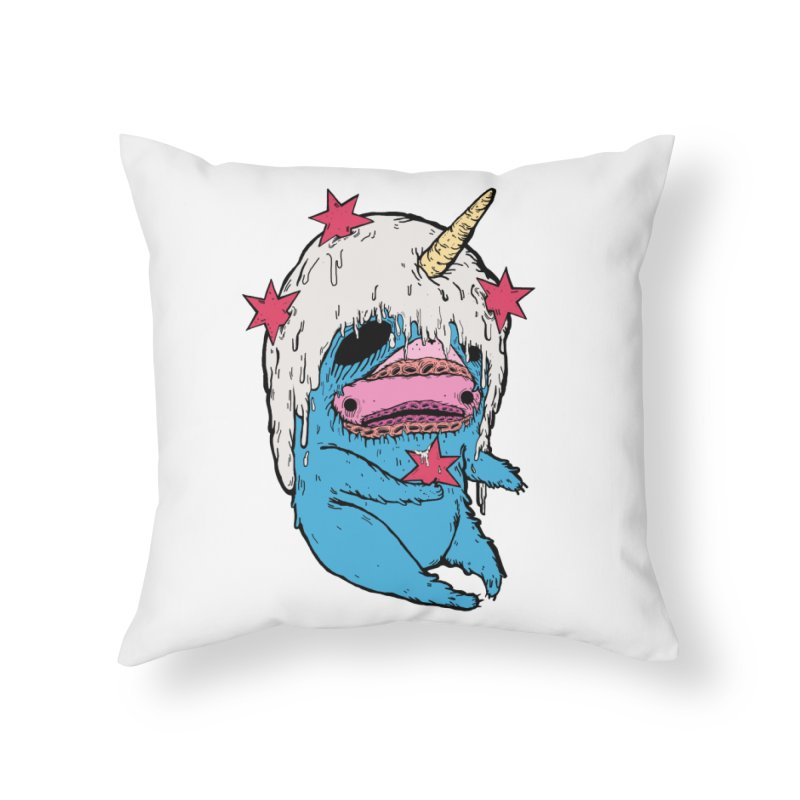 ChiMunster Home Throw Pillow by ellooelloo