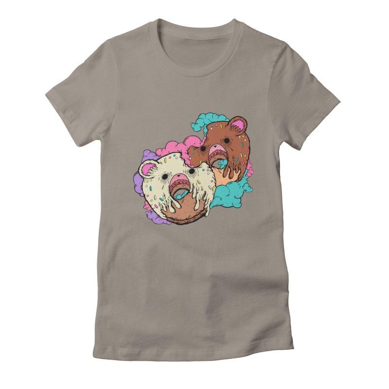 Sweet Love Women's Fitted T-Shirt by ellooelloo