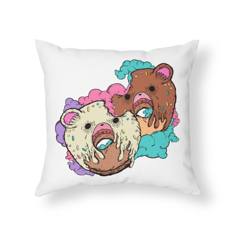 Sweet Love Home Throw Pillow by ellooelloo