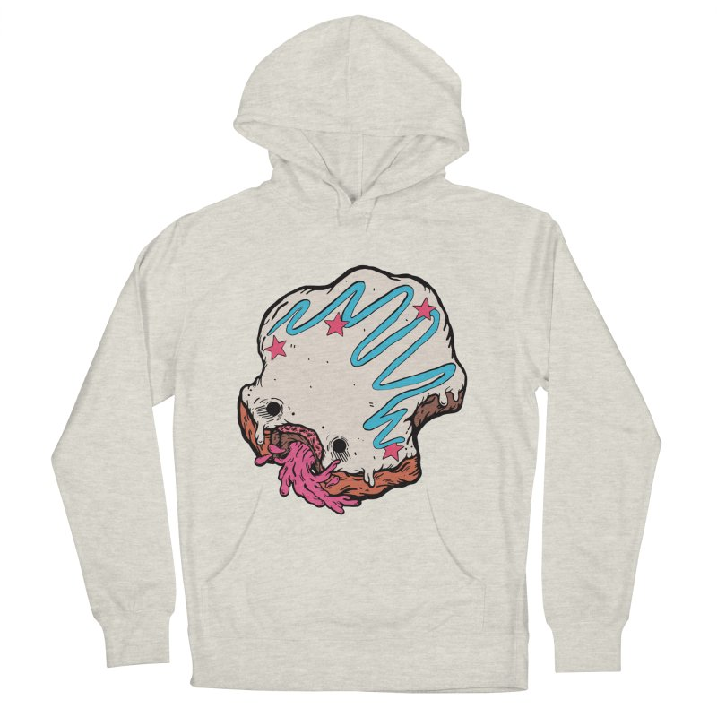 Pukin' Donut Men's French Terry Pullover Hoody by ellooelloo