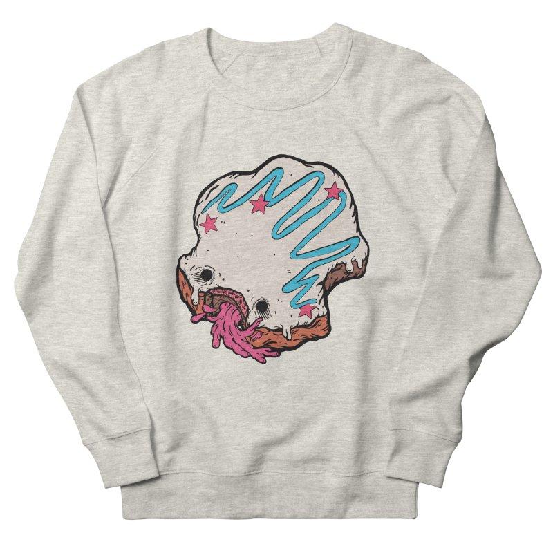 Pukin' Donut Women's French Terry Sweatshirt by ellooelloo