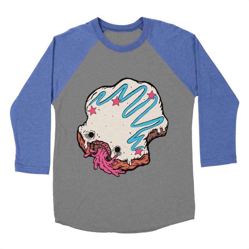 Pukin' Donut Men's Baseball Triblend Longsleeve T-Shirt by ellooelloo