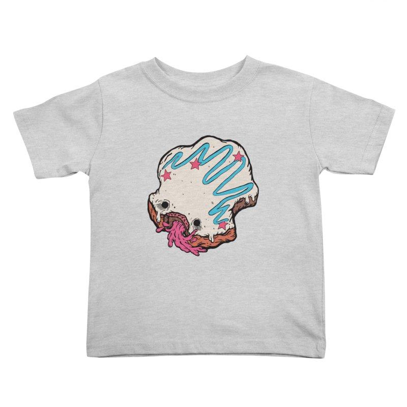 Pukin' Donut Kids Toddler T-Shirt by ellooelloo