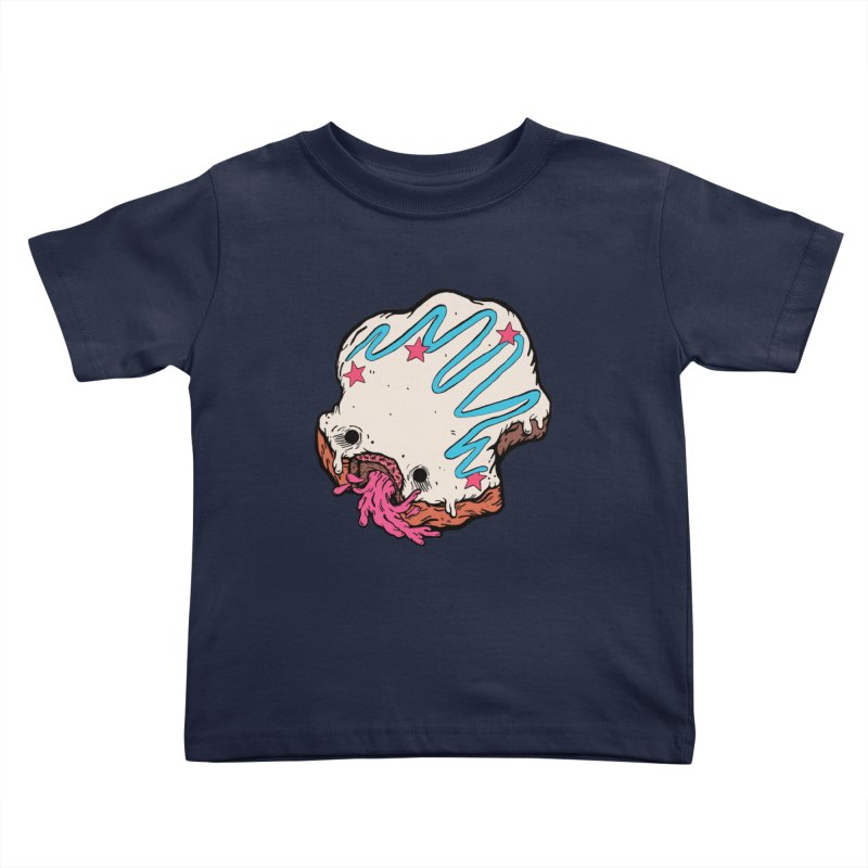 Pukin' Donut Kids Toddler T-Shirt by ellooelloo