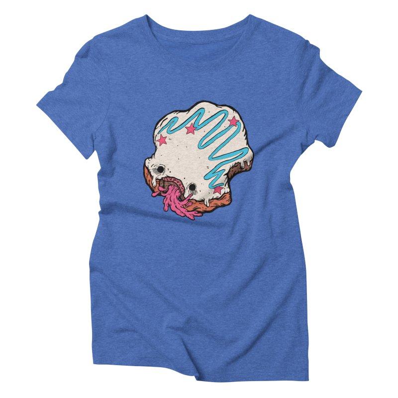 Pukin' Donut Women's Triblend T-Shirt by ellooelloo