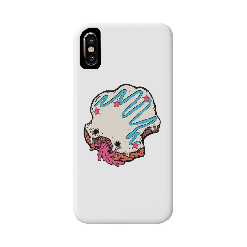 Pukin' Donut Accessories Phone Case by ellooelloo