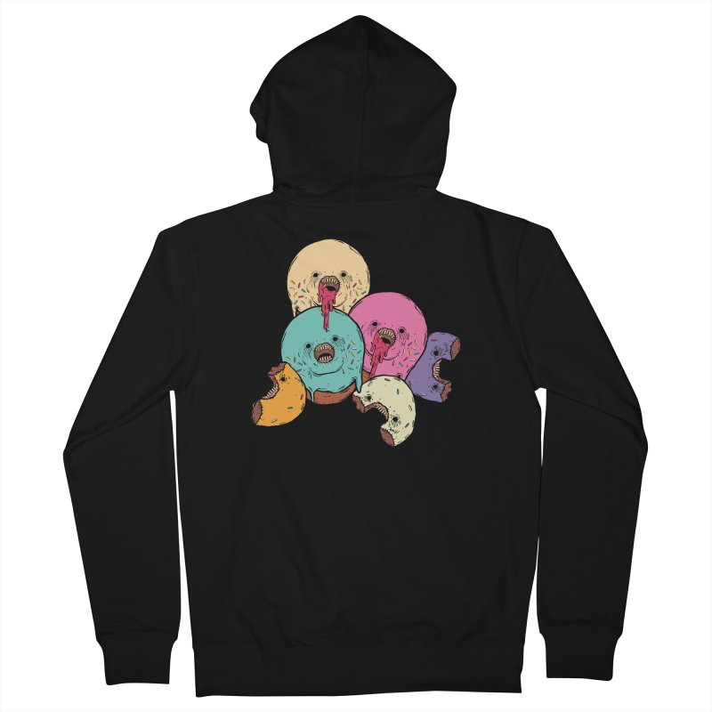 Donut Cluster Women's French Terry Zip-Up Hoody by ellooelloo