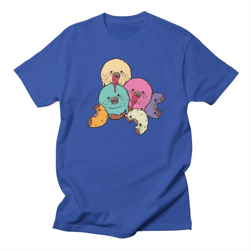 Donut Cluster Men's Regular T-Shirt by ellooelloo