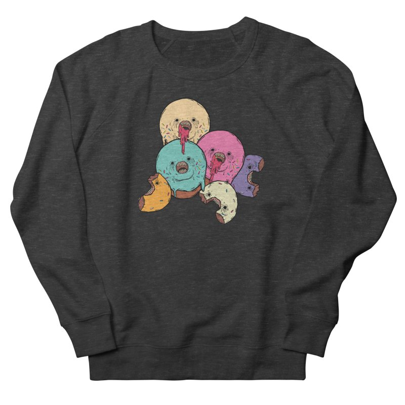 Donut Cluster Women's French Terry Sweatshirt by ellooelloo