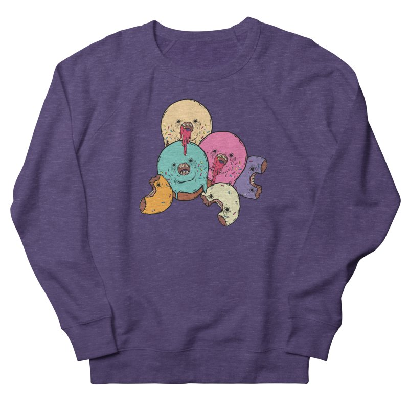 Donut Cluster Men's French Terry Sweatshirt by ellooelloo
