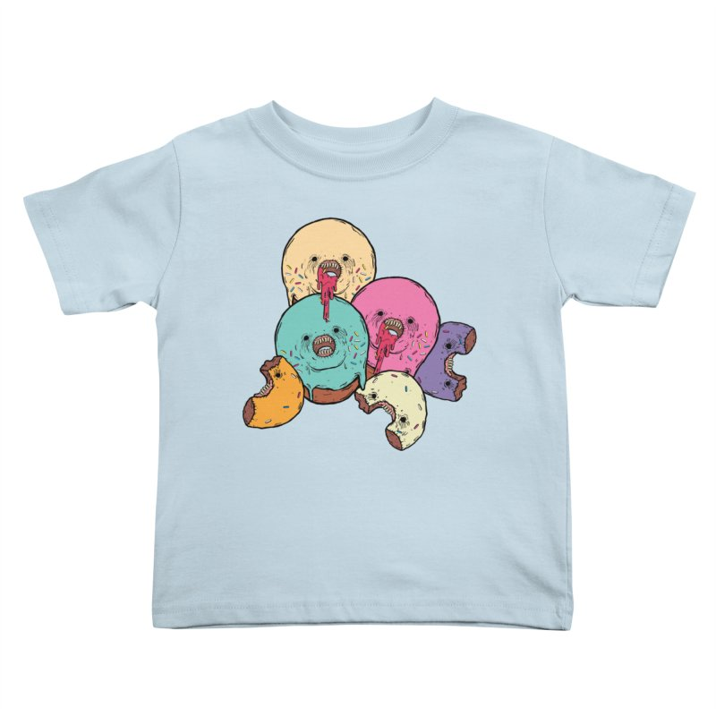 Donut Cluster Kids Toddler T-Shirt by ellooelloo